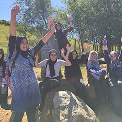 An inspiring trip up Snowdon with Rochdale Islamic Academy for Girls